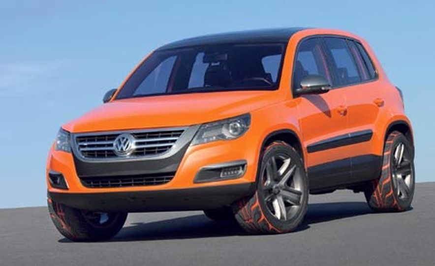 Volkswagen Tiguan Concept<br /><br /> - Slide 1