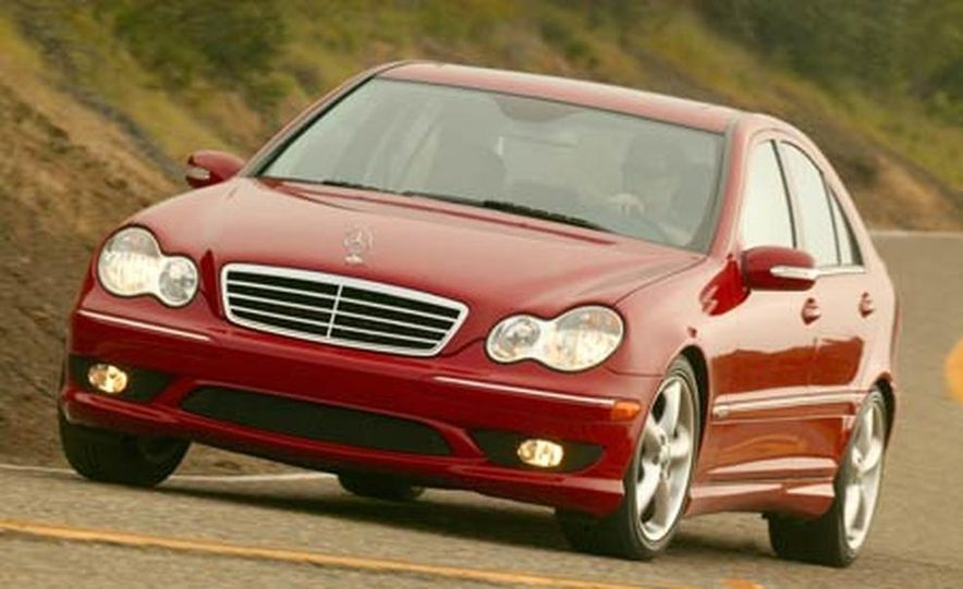 2008 Mercedes-Benz C-class sedan - Slide 10