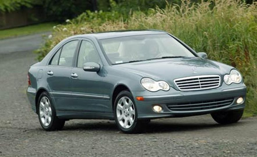 2008 Mercedes-Benz C-class sedan - Slide 13