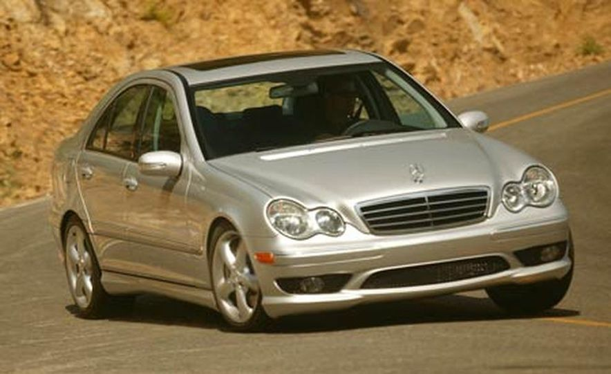 2008 Mercedes-Benz C-class sedan - Slide 15
