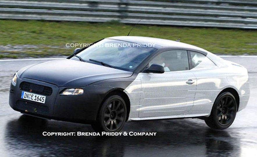 2008 Audi A5 spied - Slide 1