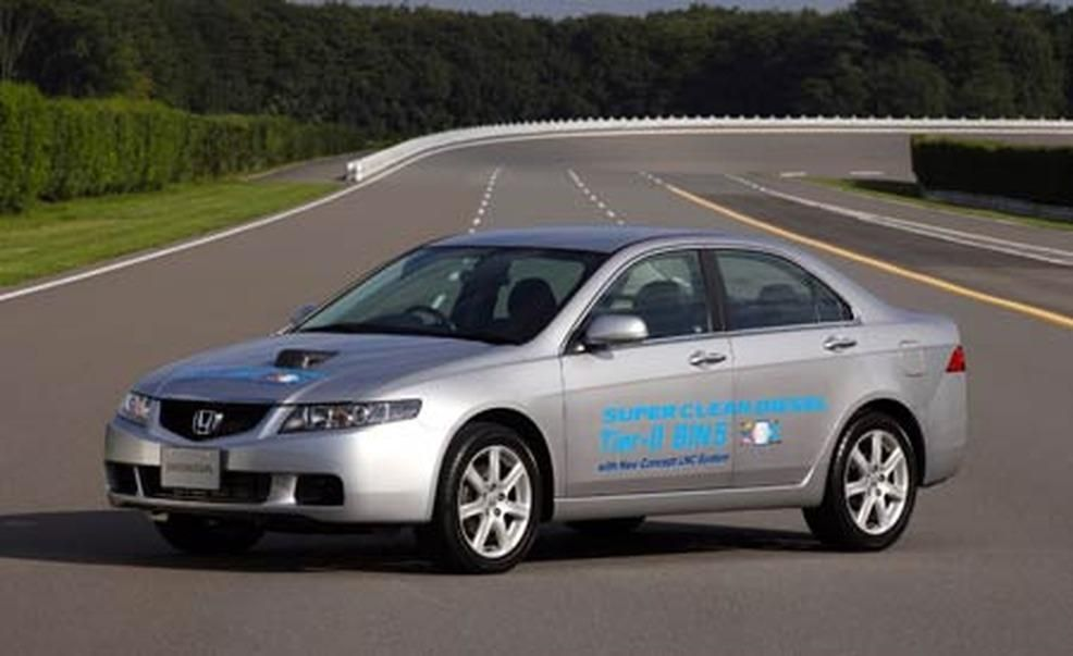 European Honda Accord Fitted With The 22liter Ictdi Inline4