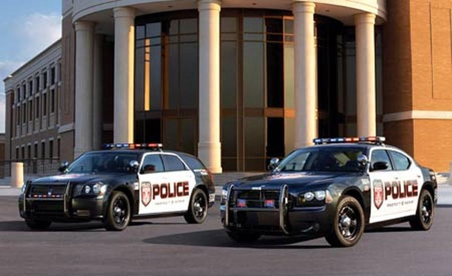 Dodge Charger and Magnum Police cars - Slide 1