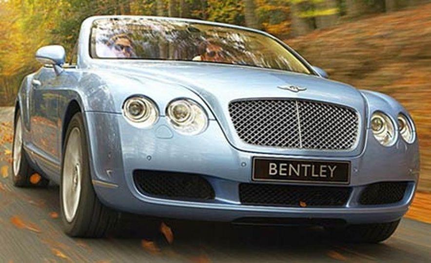 2007 Bentley Continental GTC Convertible - Slide 1