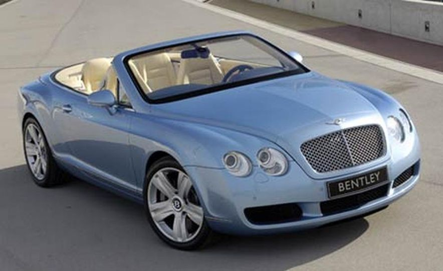 2007 Bentley Continental GTC Convertible - Slide 6