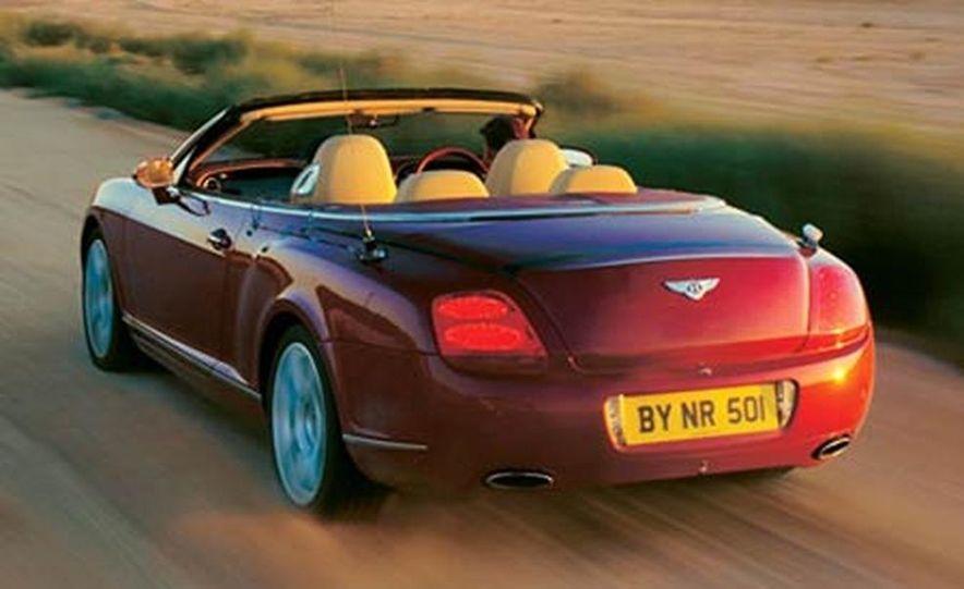 2007 Bentley Continental GTC Convertible - Slide 20