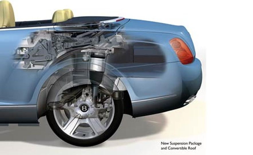 2007 Bentley Continental GTC Convertible - Slide 25