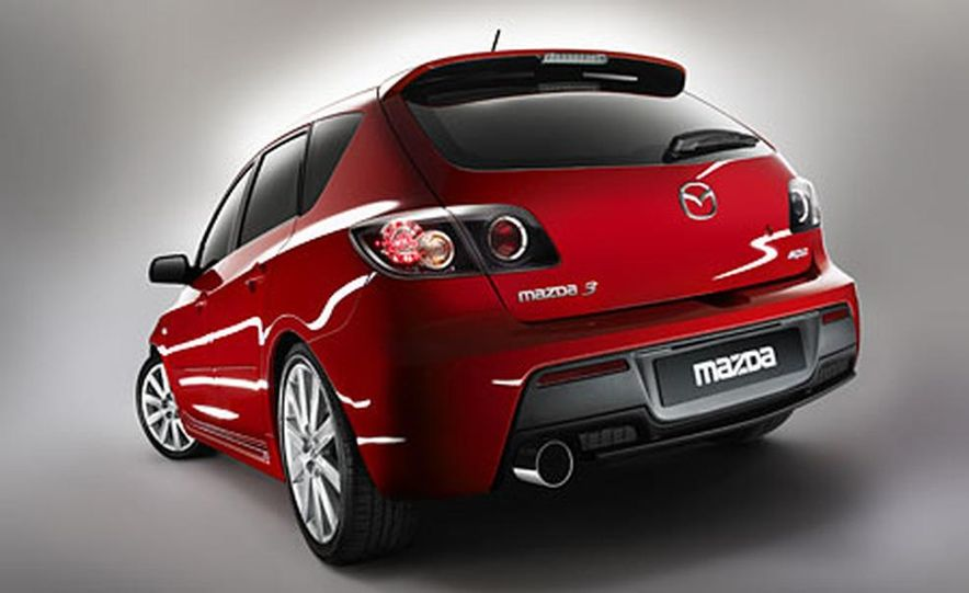 2007 Mazda Mazdaspeed 3 - Slide 1