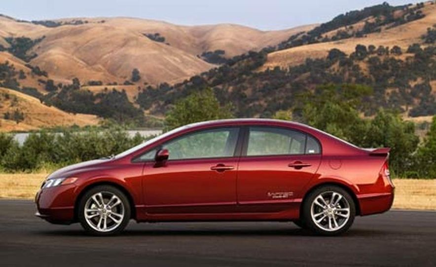 2007 Honda Civic Si sedan - Slide 1