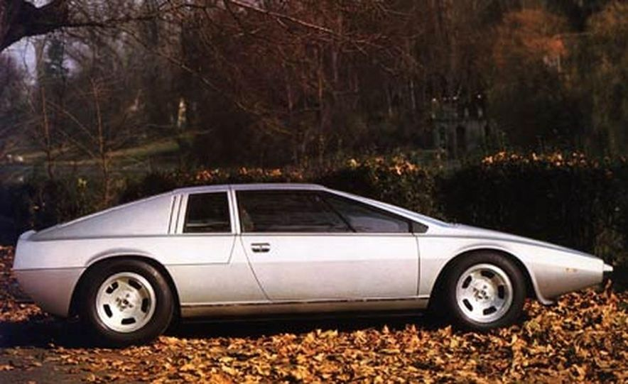1972 Lotus Esprit concept - Slide 1