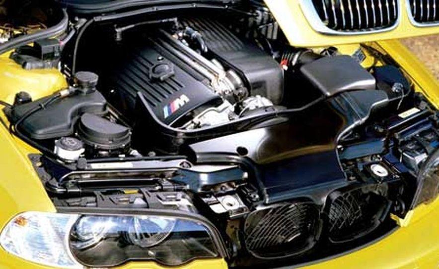 2006 BMW M3 3.2-liter inline-6 engine - Slide 2