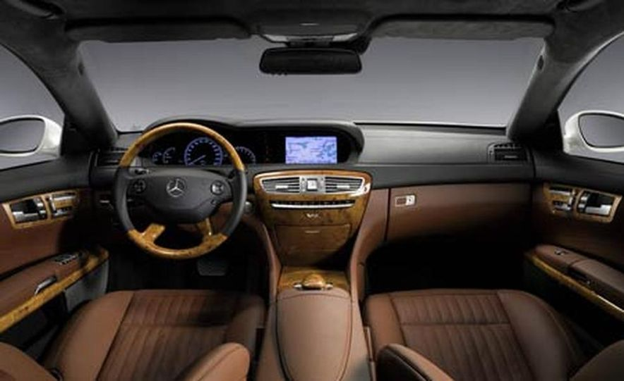 2007 Mercedes-Benz CL550 and CL600 - Slide 15