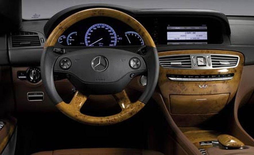 2007 Mercedes-Benz CL550 and CL600 - Slide 16