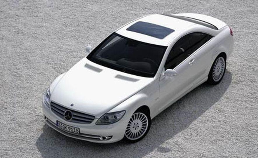 2007 Mercedes-Benz CL550 and CL600 - Slide 1