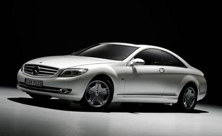 2007 Mercedes-Benz CL550 and CL600 - Slide 4