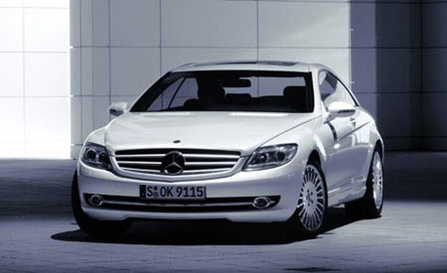 2007 Mercedes-Benz CL550 and CL600 - Slide 6