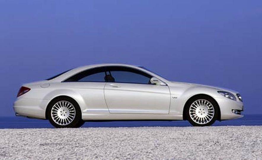 2007 Mercedes-Benz CL550 and CL600 - Slide 9