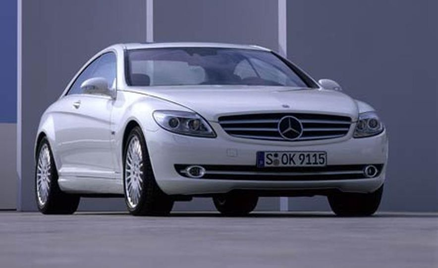 2007 Mercedes-Benz CL550 and CL600 - Slide 11