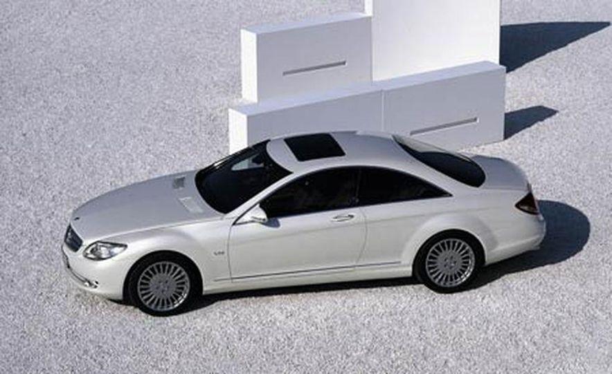 2007 Mercedes-Benz CL550 and CL600 - Slide 13