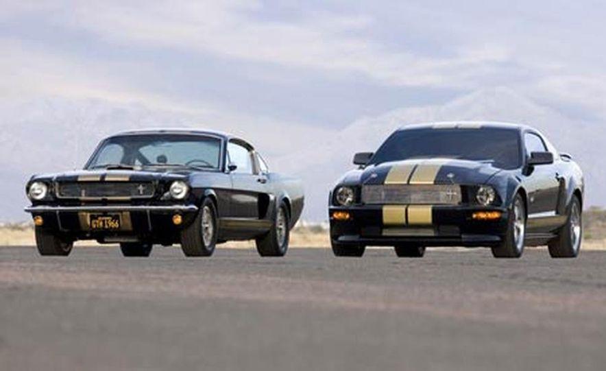 2007 Ford Mustang Shelby GT-H Hertz Racer - Slide 9
