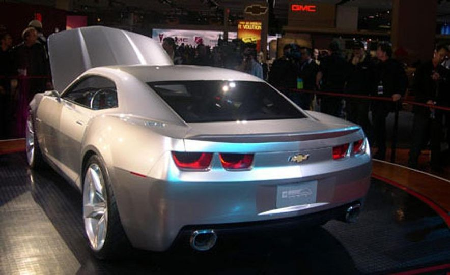 Chevrolet Camaro concept - Slide 14