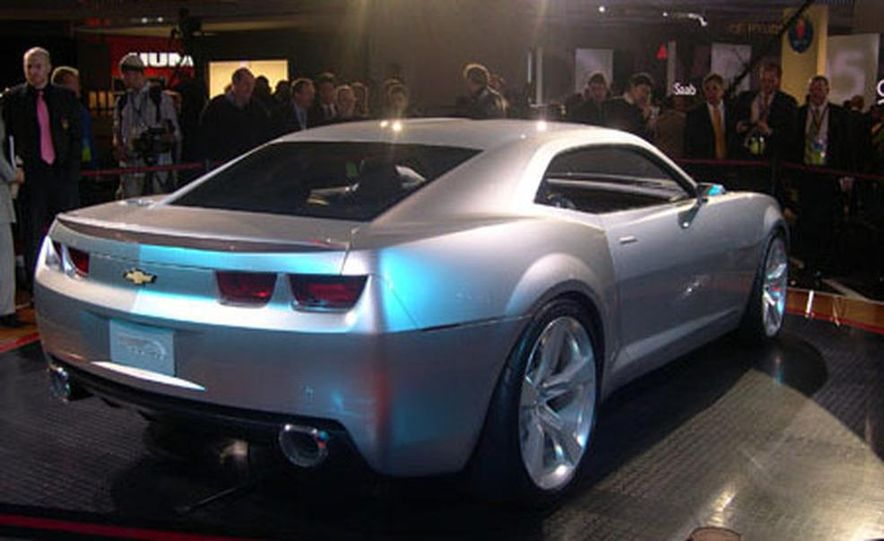 Chevrolet Camaro concept - Slide 19