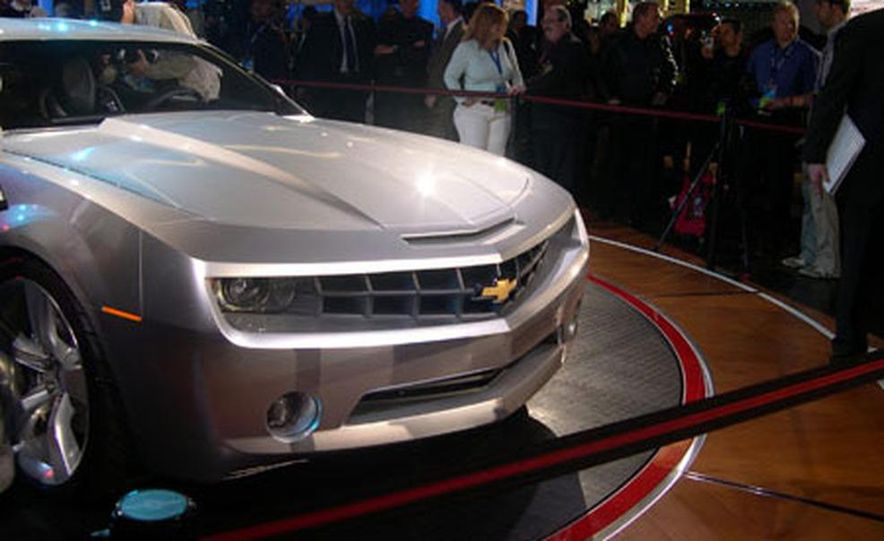 Chevrolet Camaro concept - Slide 22