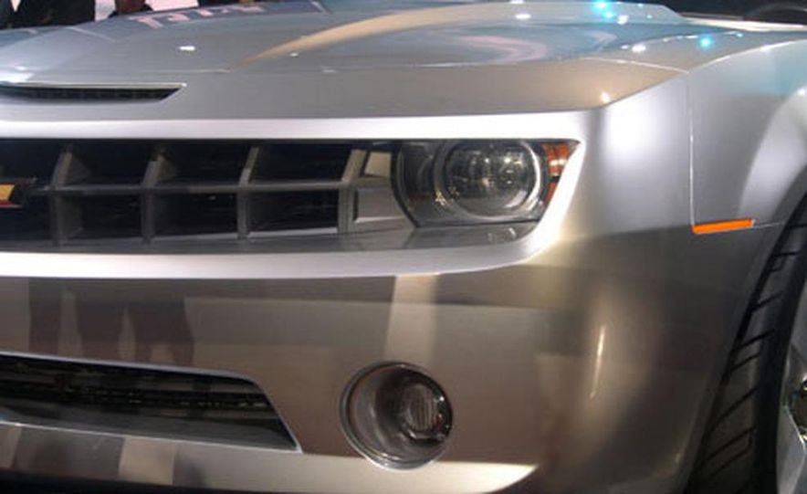 Chevrolet Camaro concept - Slide 26