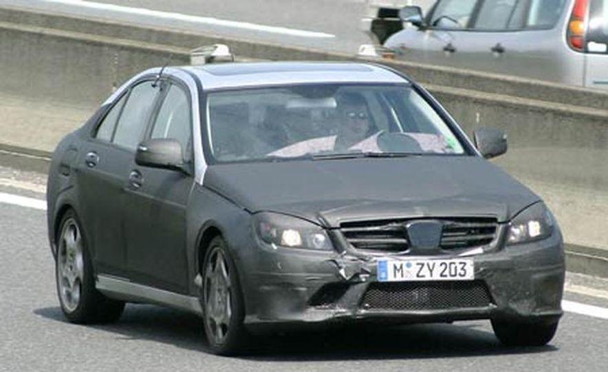 2008 Mercedes-Benz C-class, C63 AMG, and C350 spy photo - Slide 1