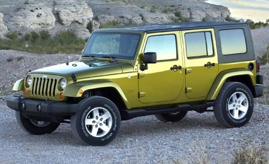 2007 Jeep Wrangler Unlimited 4-Door - Slide 1
