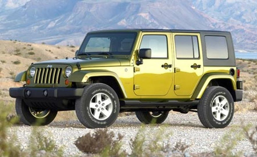 2007 Jeep Wrangler Unlimited 4-Door - Slide 2