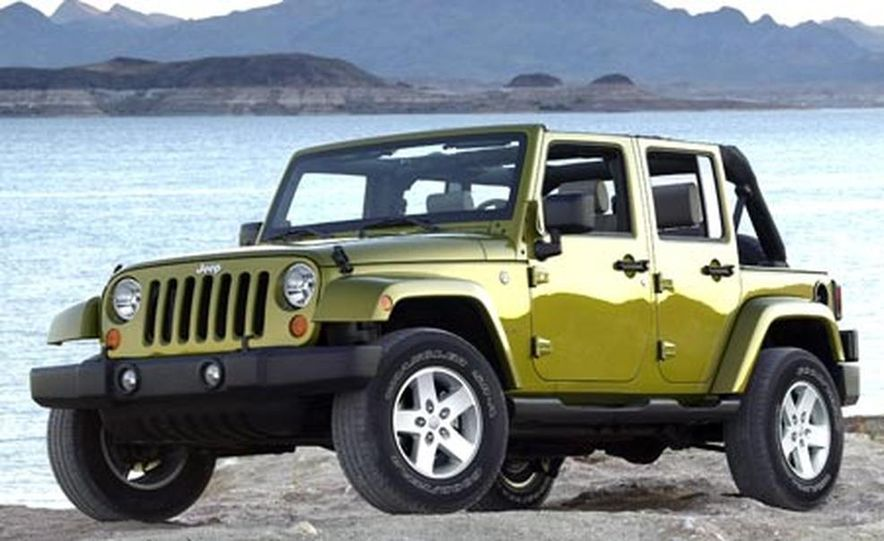 2007 Jeep Wrangler Unlimited 4-Door - Slide 3
