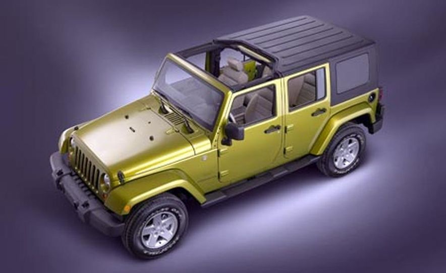 2007 Jeep Wrangler Unlimited 4-Door - Slide 4