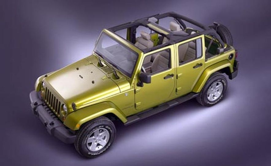 2007 Jeep Wrangler Unlimited 4-Door - Slide 5