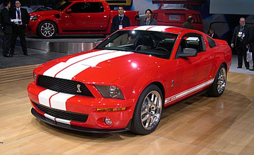 Ford Shelby Cobra GT500 - Slide 1