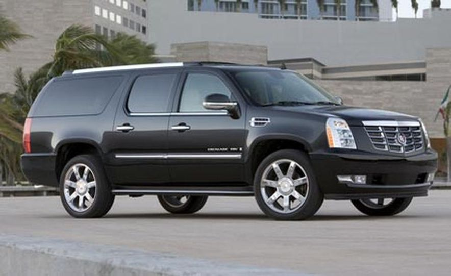2009 Cadillac Escalade Platinum - Slide 16