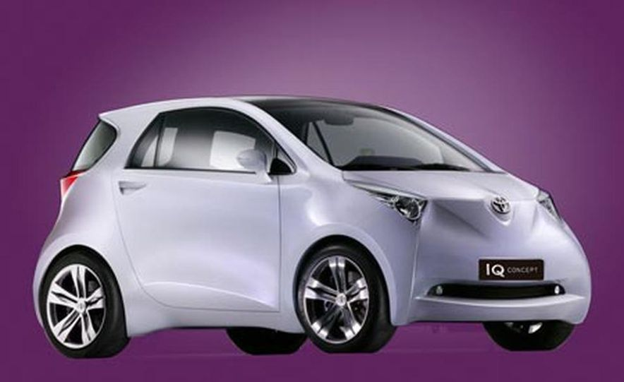 Toyota iQ concept - Slide 2