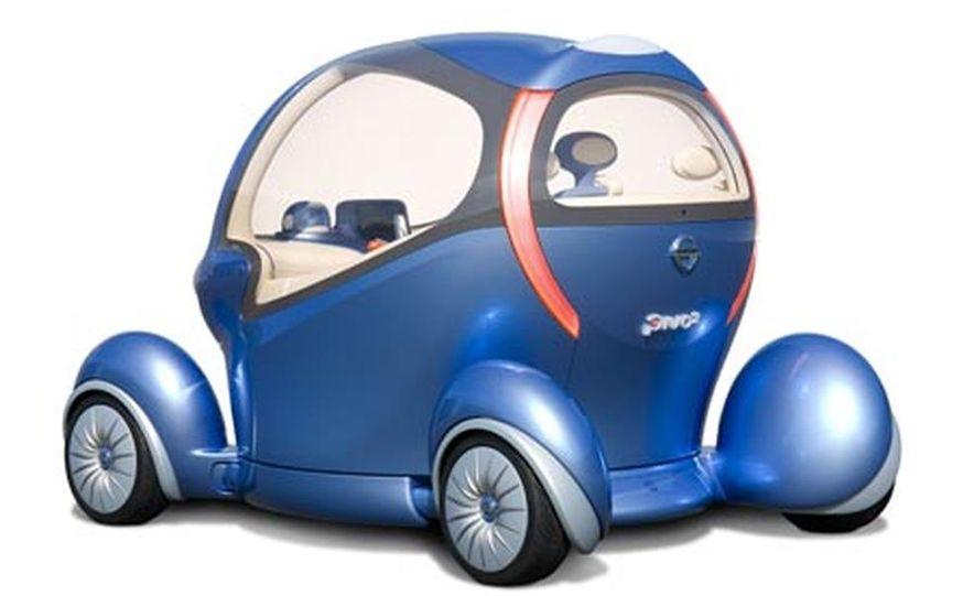 Nissan Pivo 2 concept<br /> <br /> - Slide 2