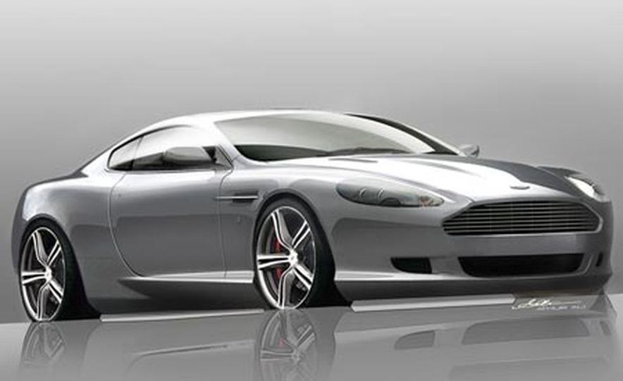 2008 Aston Martin DB9 LM - Slide 1