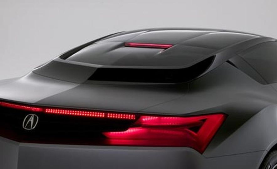 Acura Advanced Sports Car concept - Slide 10