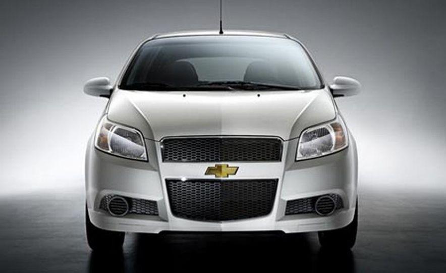 2008 Chevrolet Aveo 5-door hatchback - Slide 1