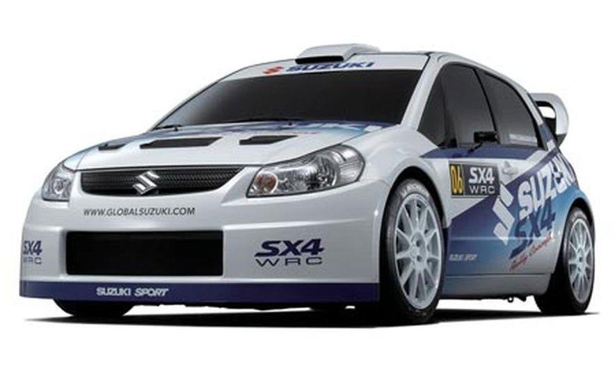 Suzuki SX4 WRC Rally Car - Slide 1