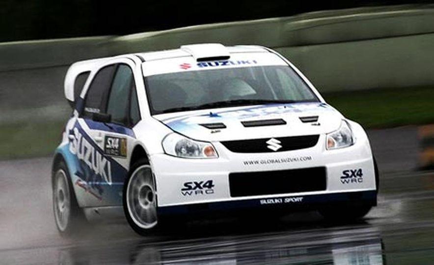Suzuki SX4 WRC Rally Car - Slide 2