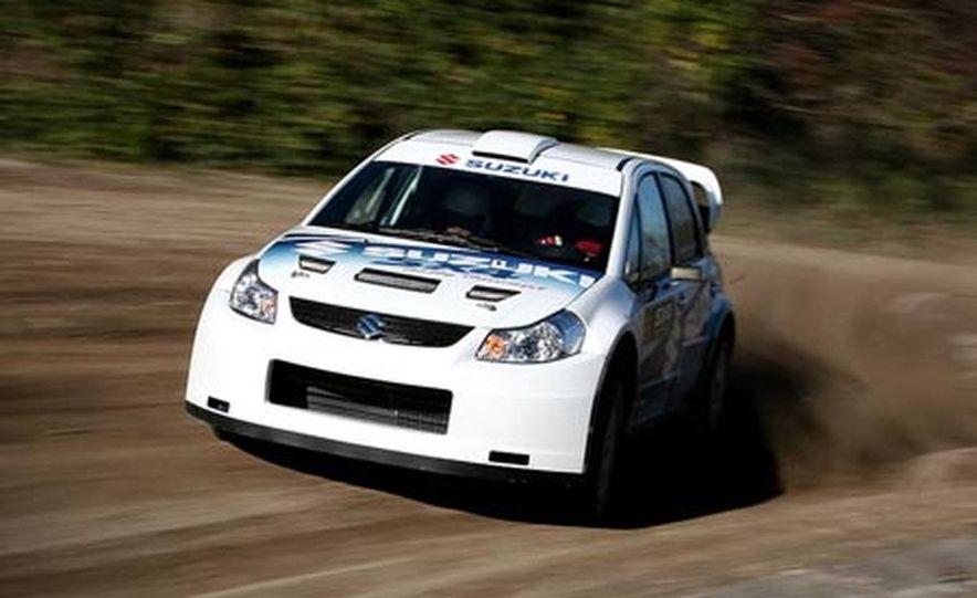 Suzuki SX4 WRC Rally Car - Slide 5