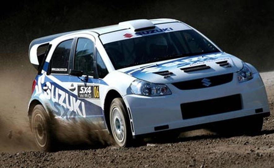 Suzuki SX4 WRC Rally Car - Slide 6