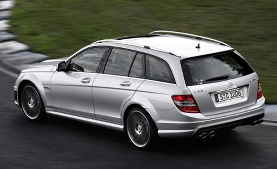 2008 Mercedes-Benz C-class Luxury estate - Slide 13