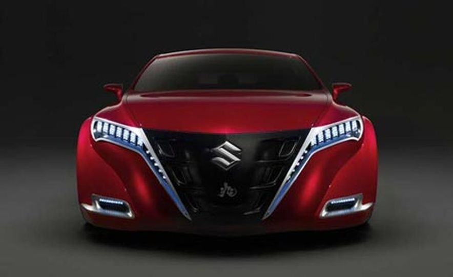 Suzuki Kizashi concept - Slide 1
