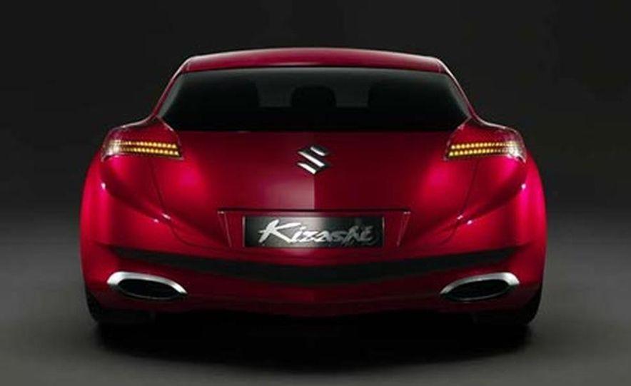 Suzuki Kizashi concept Pictures  Photo Gallery  Car and Driver