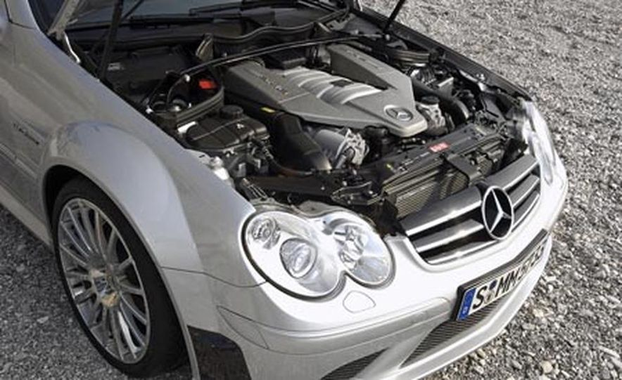 2008 Mercedes-Benz CLK63 AMG Black Series - Slide 15