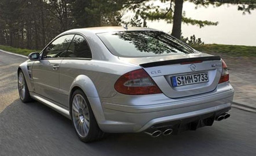 2008 Mercedes-Benz CLK63 AMG Black Series - Slide 14